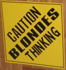 Блондинки думают