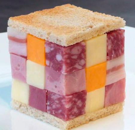 Бутерброд Рубика