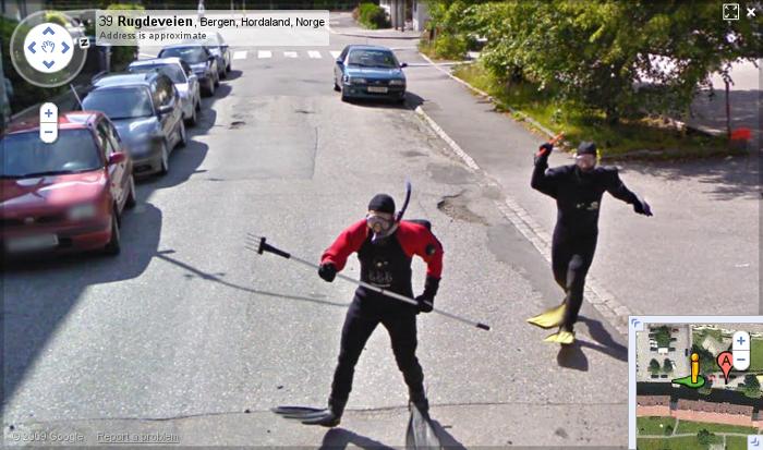 Погоня на Гугл Мапс