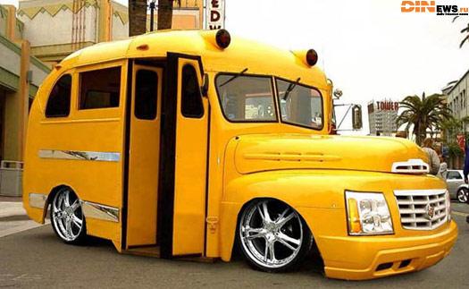 прикольный автобус